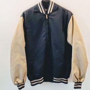 Tan and Blue Dickies Jacket Medium
